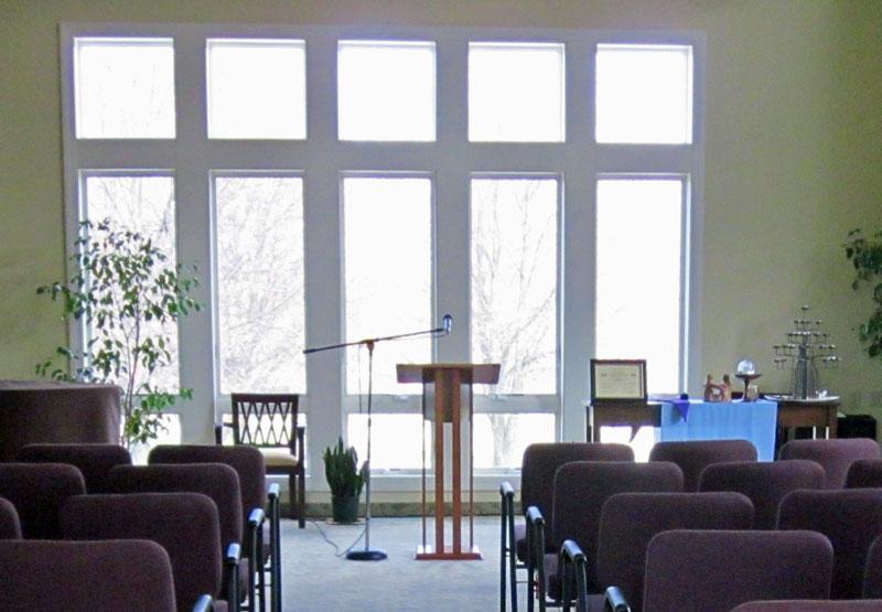 Center Aisle to Pulpit